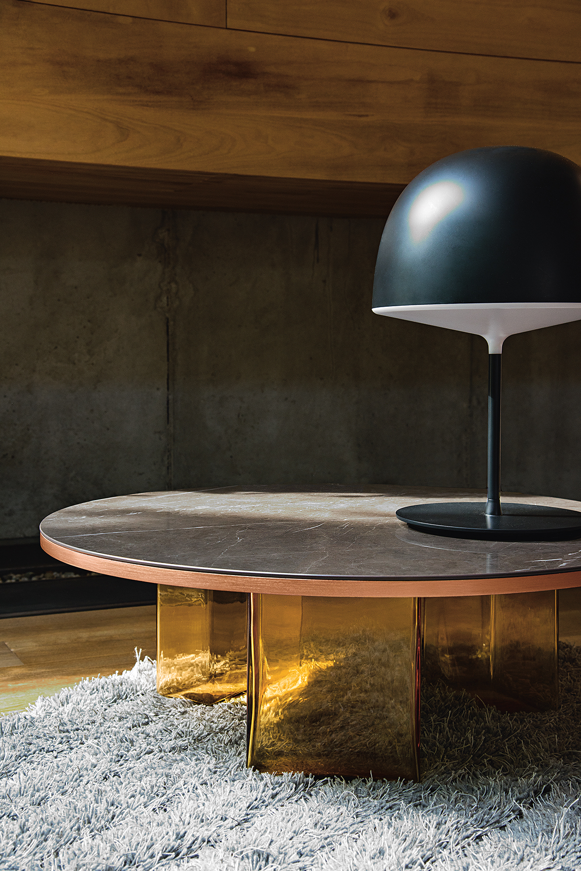 Lands The Glass Coffee Tables Collection Fiam Italia